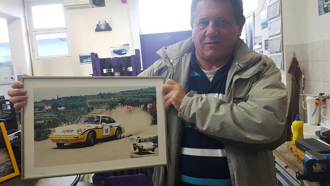 Vojko Podobnik je leta 1986 postal državni prvak nekdanje jugoslavije s porschejem 911 skupine B.