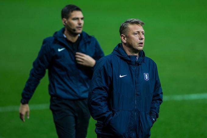 Coach Olimpija Zoran Barisic has not lost yet green and white.