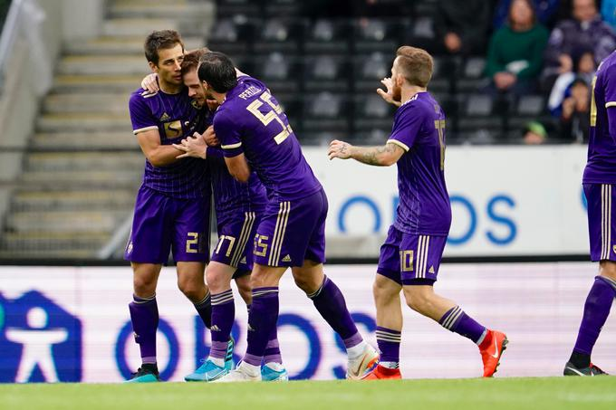 At the end of the first half Maribor was a poet.
