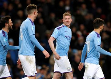 V senci lige prvakov Man City ugnal West Ham