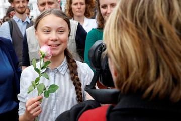 Okoljska aktivistka Greta Thunberg prejemnica nagrade Amnesty International