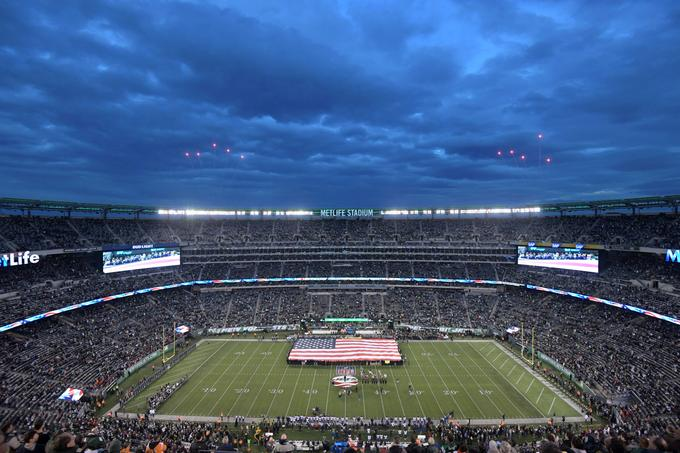 New York Giants igrajo na štadionu MetLife.