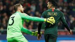 Atletico Jan Oblak Monaco Radamel Falcao