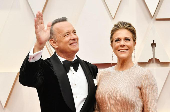 Tom Hanks in Rita Wilson