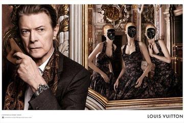 David Bowie, modni fantom iz opere za Louis Vuitton