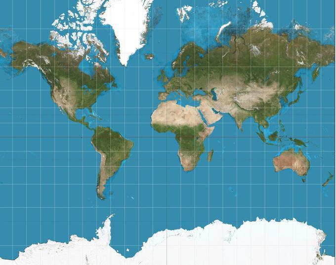 mapa sveta navigacija Zemljevid sveta vam laže že vse življenje   siol.net mapa sveta navigacija