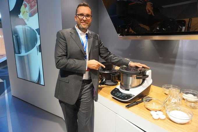 Bosch is the world premiere of the world's premier electronics and home appliances at AFF Berlin, the first day of the world premiere of Cooket's global premiere, which incorporates a great deal of knowledge and imagination of Slovenia.