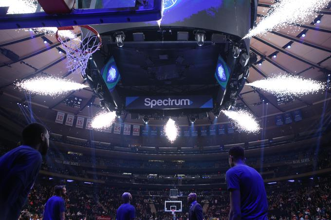 Tekme New York Knicks v kultnem Madison Square Gardenu so vseskozi razprodane.