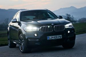 Test: BMW X6 M50d xDrive #video