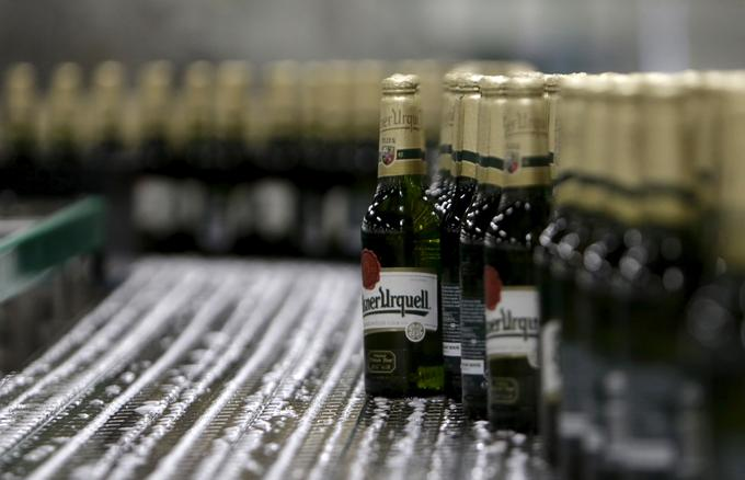 Last year, AB InBev has received a net profit of 5.90 billion euros, which is 14.7 percent less than in the previous year.