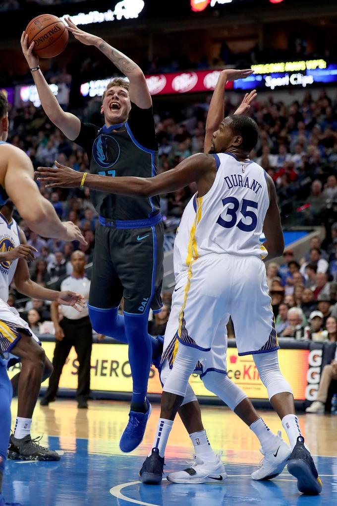 Kevin Durant praised Luke Doncic.