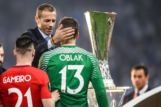 This year he has won two European laurels. Europa League and superpocal. He was also occasionally congratulated by the president of the European Football Association (Uefa) Alexander Ceferin.
