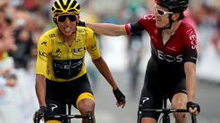 Egan Bernal Geraint Thomas