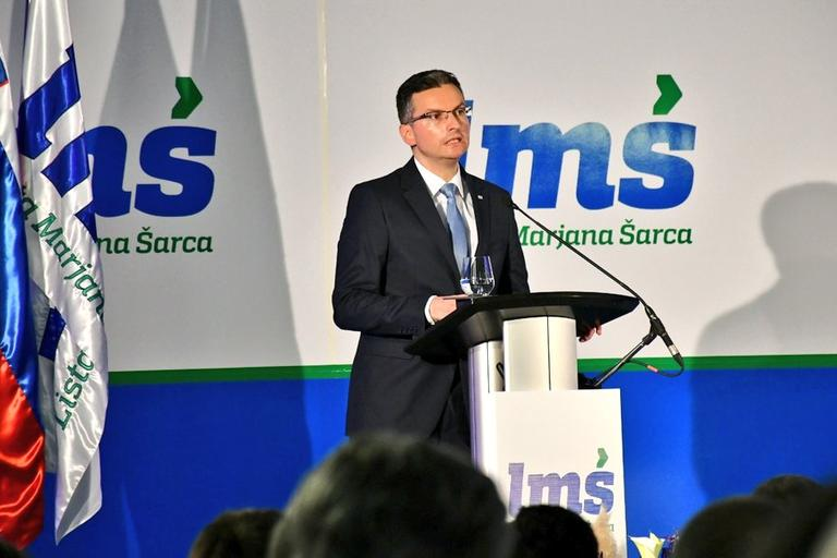 Marjan Šarec, kongres LMŠ, april 2019