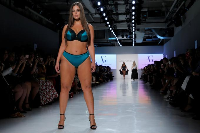 Ashley Graham je trenutna največja zvezdnica med plus size manekenkami.