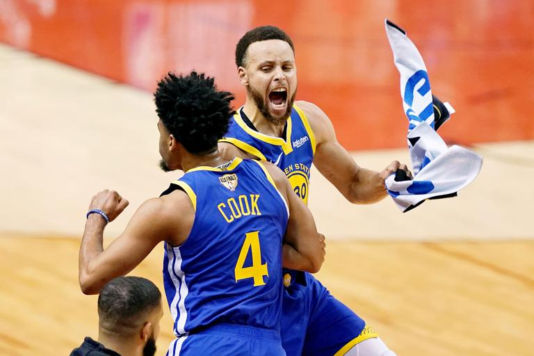 Stephen Curry Quinn Cook Golden State