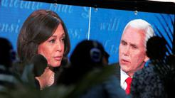 Kamala Harris in Mike Pence