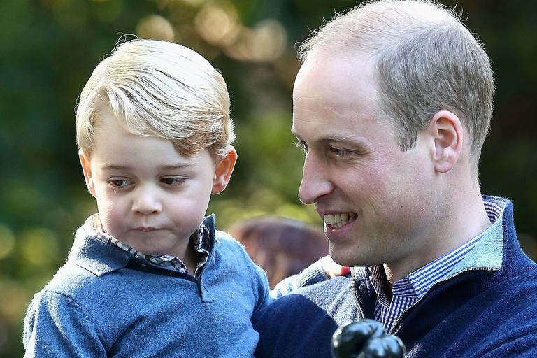 princ George, princ William