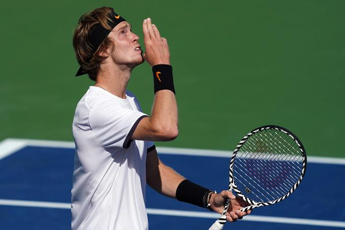 Andrei Rublev finished 31st in the ATP ranking six and a half years ago.