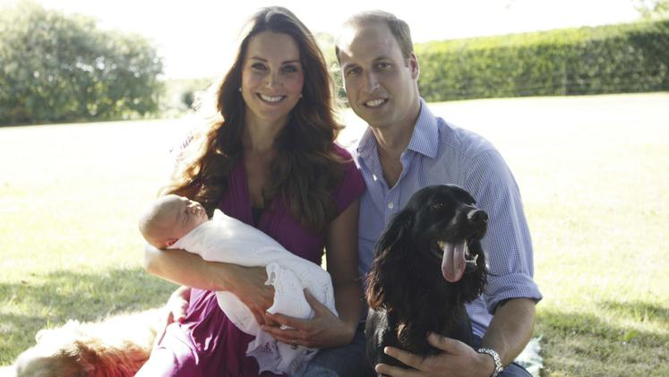 Kate Middleton, princ Willaim, pes Lupo