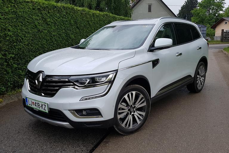 Renault koleos v Sloveniji: bo kos zelo močni in ...