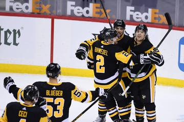 Hokejisti Pittsburgha in Vegasa do zmage