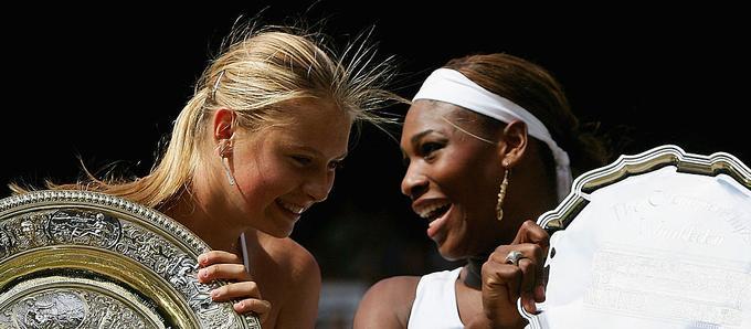 Marija Šarapova in Serena Williams se nikoli nista najbolje razumeli, a menda sta se spoštovali.