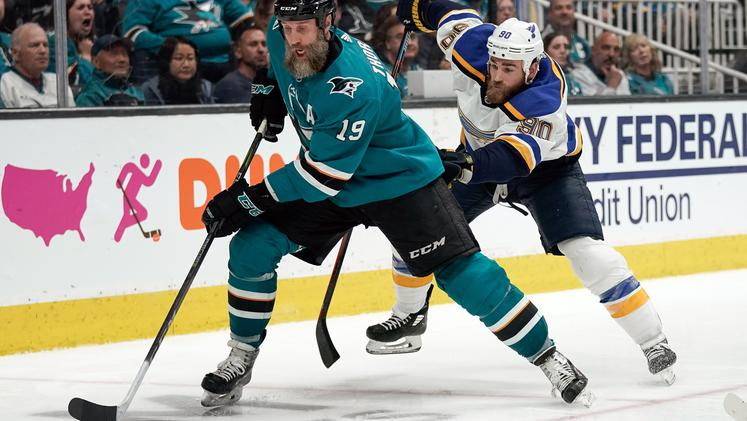 San Jose Sharks St. louis Blues