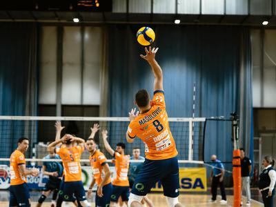 Dvojček zmag ACH Volleyja na Slovaškem, tudi Mariborčani uspešni