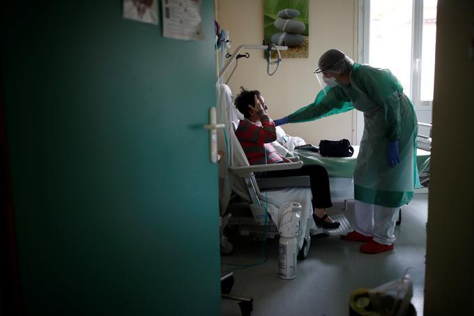 Francija koronavirus bolnišnica