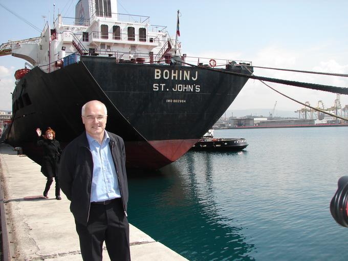 Egon Bandelj, nekdanji dolgoletni predsednik uprave Splošne plovbe