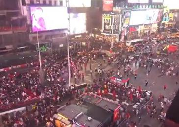 New York zajela panika. Ljudje so mislili, da se pripravlja nov napad. #video