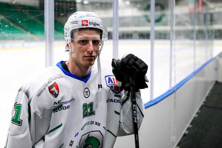 HK Olimpija Steel Wings Linz Jan Drozg