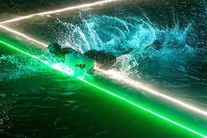 Tomi Šmuc je po dvorani, mivki in snegu prvič doživel, kako je igrati na vodi.