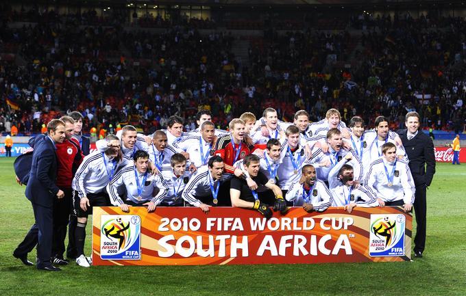Tretje mesto so osvojili izbranci Joachima Löwa. S 3:2 so ugnali Urugvajčane, pri katerih je izstopal Diego Forlan, najboljši nogometaš turnirja.