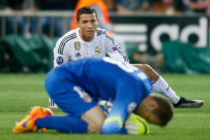 Prestopil je v Atletico in se znašel med zvezdniki, kot je Cristiano Ronaldo.