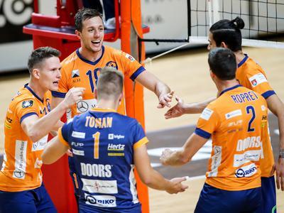 ACH Volley ubranil točko pred Mariborom, najboljše štiri ekipe prvenstva suverene