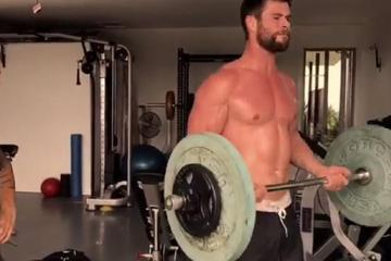 Chris Hemsworth je pokazal, kako se preobrazi v Thora