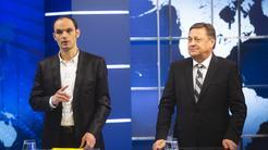 Pre-election confrontation: Anže Logar and Zoran Jankovic