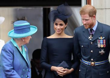 Meghan in Harry spet ujezila kraljico