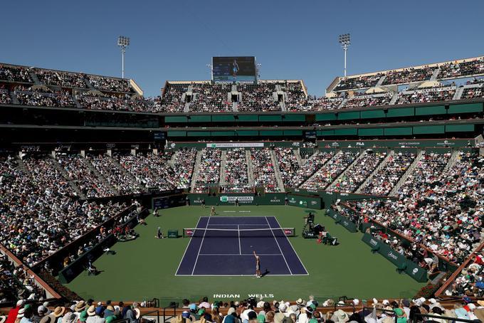 Indian Wells velja za enega najbolj prestižnih turnirjev.