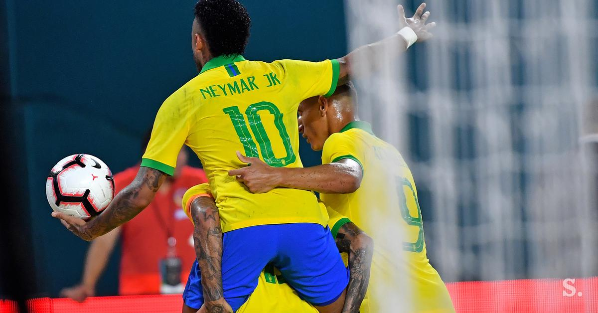 Neymar is back and takes care of the draw with Colombia