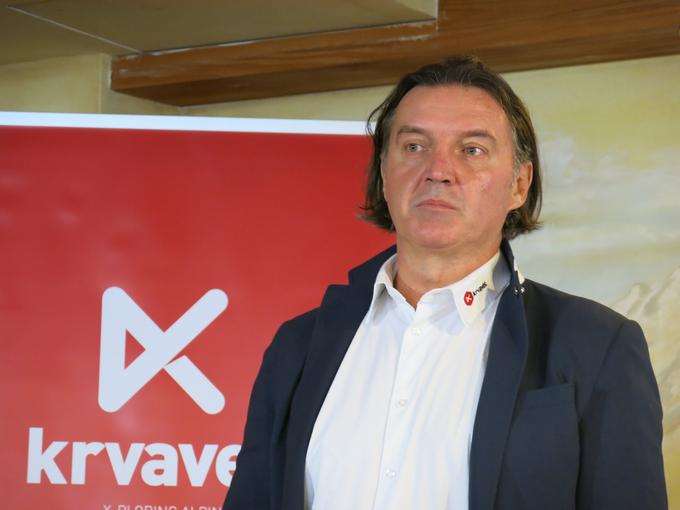 Entrepreneur Janez Jansa, owner of RTC Krvavec