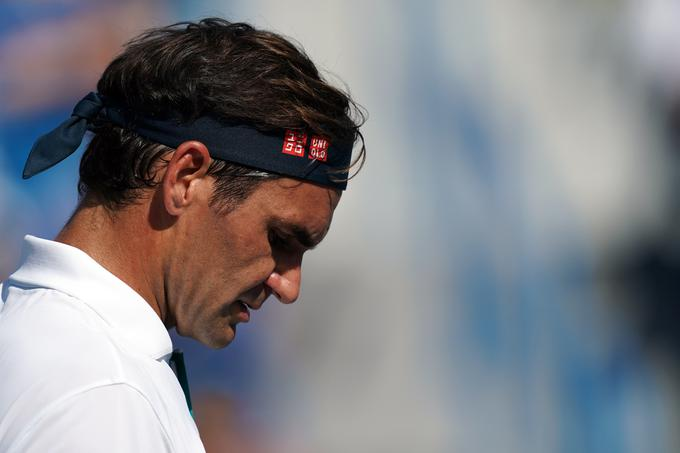 Roger Federer has not lost so quickly since 2003.