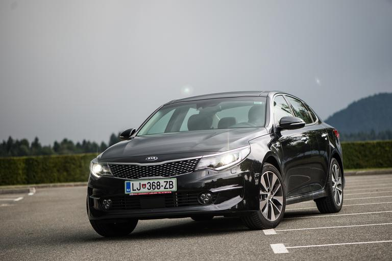 Kia optima - test