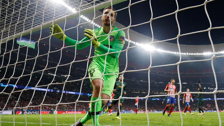 Atletico Jan Oblak Monaco