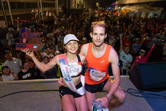 Z lovoriko globalnega teka Wings for Life World Run