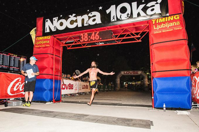 The fastest among runners was Janez Mihovec. He won 10 kilometers at 38:38.