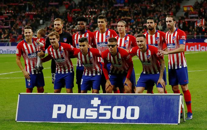 Atletico in the Spanish championship of leading Barcelona only sounds one point. Immediately after the break follows a large derby, as the Catalans will host Cloud and Friends on November 24th.