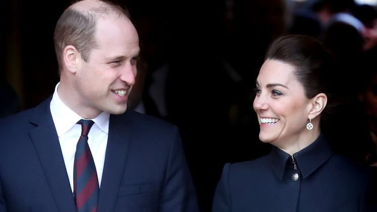 Kate Middleton in princ William